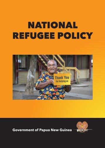 NATIONAL REFUGEE POLICY