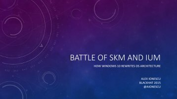 BATTLE OF SKM AND IUM