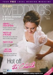 Dream Weddings Magazine - Bristol, Somerset & Wiltshire - iss.32