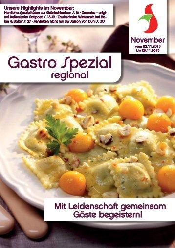 Gastro Spezial November 2015