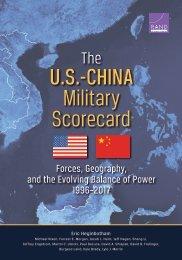 U.S.-CHINA Military Scorecard