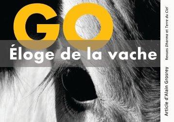 Go. Éloge de la Vache