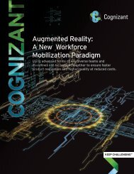 Augmented Reality A New Workforce Mobilization Paradigm
