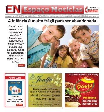 Jornal Espaço Notícias - Outubro 2015