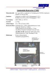 Ammoniak-Konverter CNH3 - ANSYCO Analytische Systeme und ...