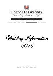 Wedding Information 2016