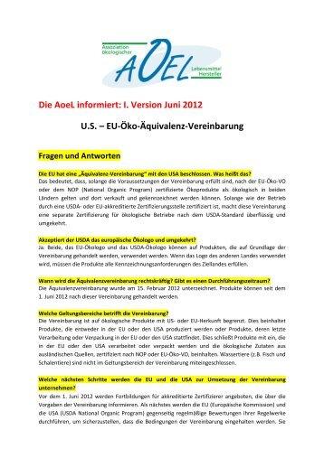 I. Version Juni 2012 US