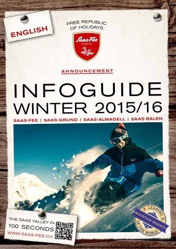 Infoguide - Winter 2015/2016