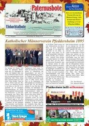 Paternusbote 2015 - KW 43