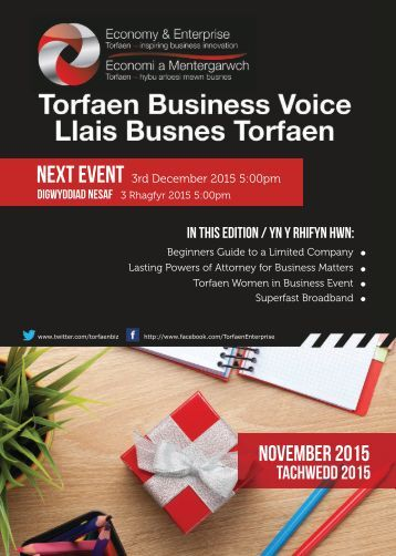 TBV Newsletter November 2015