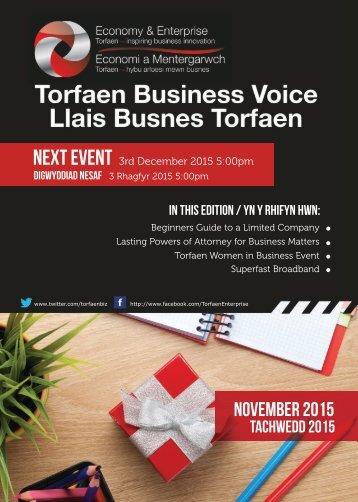 TBV Newsletter November 2015