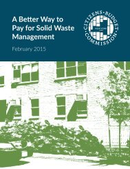 A Better Way to Pay for Solid Waste Management