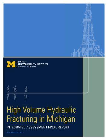 Fracturing in Michigan