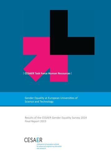 CESAER_Gender_Equality-oct15_incl_annexes