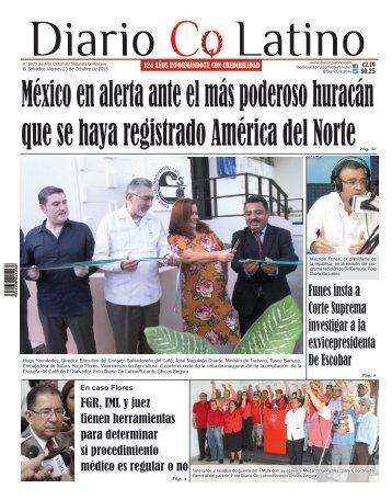Edición 23 de Octubre de 2015
