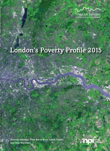 London's Poverty Profile 2015