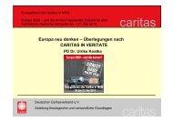 Europa neu denken (Ulrike Kostka, Deutscher  ... - Caritas NRW
