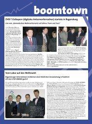 DVB-T Ostbayern (digitales Antennenfernsehen) startete in ...