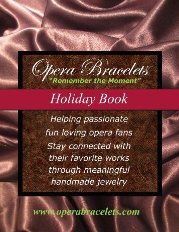 Opera Bracelets Holiday Book 2015