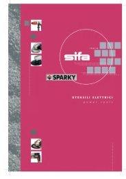 Utensili elettrici - SIFA S.p.A.