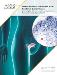 Expert Commentary on Frequently Asked Questions in Ovarian Cancer