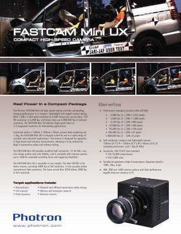 FASTCAM Mini UX100