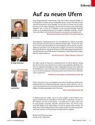 Auf zu neuen Ufern - beim SN-Fachpresse Verlag