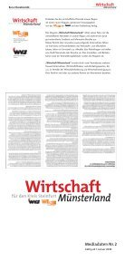Wirtschaft Wirtschaft Wirtschaft - Tecklenborg Verlag - Page 2