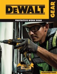 DEWALT Product Brochure - Radians