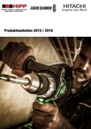 Hitachi Produktneuheiten 2016
