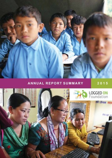 Annual Report Summary 2015