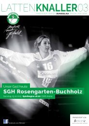 LATTENKNALLLER 03 - 25.10.2015 - FRISCH AUF Frauen 2015/2016