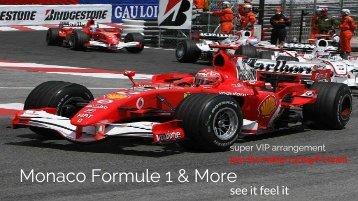 Monaco Formule 1 VIP