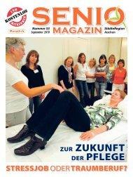 Warum pflege ich - Senio Magazin