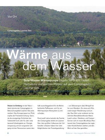 """Sehen Sie hier den Artikel """"Buderus - das Magazin - Franz Both GmbH"""