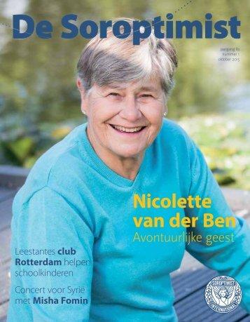 Nicolette van der Ben