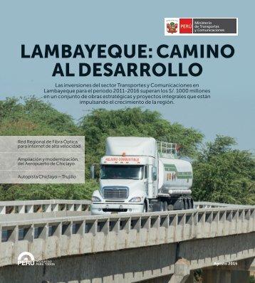 LAMBAYEQUE CAMINO AL DESARROLLO