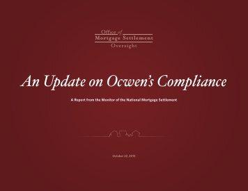 Ocwen magazines an update on ocwens compliance platinumwayz