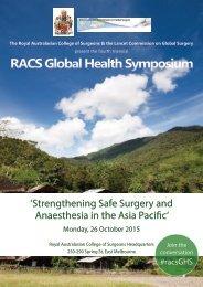 RACS Global Health Symposium