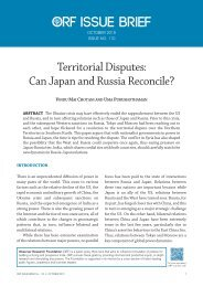 Territorial Disputes Can Japan and Russia Reconcile?
