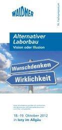 Alternativer Laborbau - WALDNER Laboreinrichtungen GmbH & Co ...