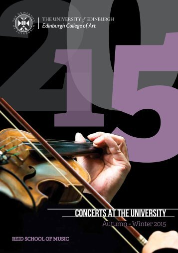 Concerts at the university