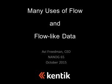 Flow-like Data