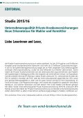 DFSI-STUDIE 2015/16: Qualitätsrating der Privaten Krankenversicherung - Seite 2