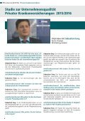 DFSI-STUDIE 2015/16: Qualitätsrating der Privaten Krankenversicherung - Seite 4