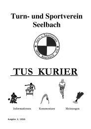 TuS-Kurier TuS Seelbach