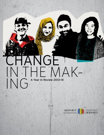 CHANGE IN THE MAK- ING