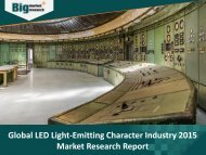 LED Light-Emitting Character Industry 2015 Market Research Report