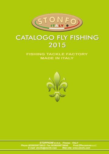 CATALOGO FLY FISHING 2015