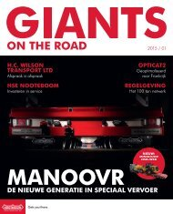 Nooteboom Giants on the road magazine-1-2015-NL